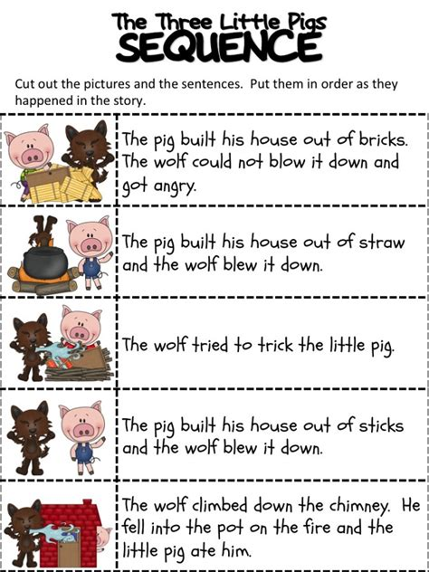 pigs worksheets activity shelter