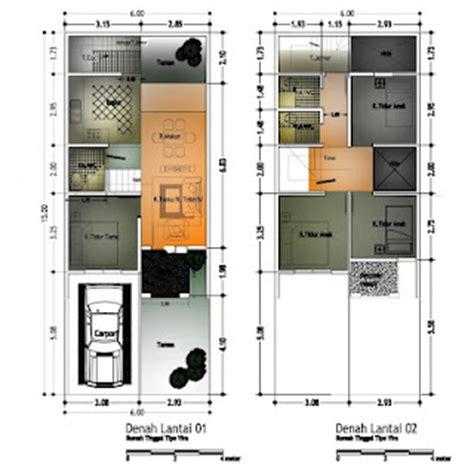 desain rumah ukuran 8x10 desain rumah mesra