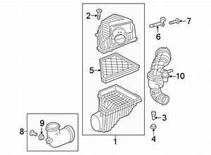 Chevrolet Traverse Engine Air Intake Hose  2 0 Liter  3 6 Liter