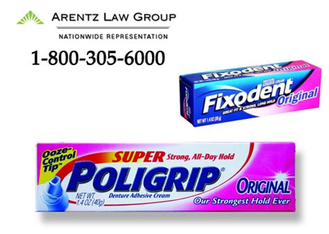 denture cream lawsuits