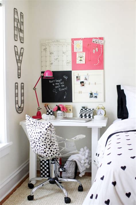 homework desk for bedroom styling ideas for teen girls desks the organised housewife