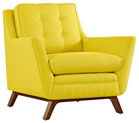 Modern Fabric Armchair by Modern Contemporary Fabric Armchair Yellow Fabric
