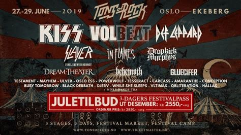 slayer  play final show  norway  tons  rock