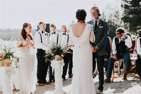Mccall Idaho Summer Camp Wedding