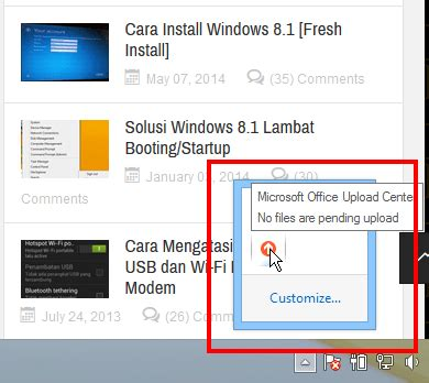 Office Upload Center by Disable Microsoft Office Upload Center Office 2013 Itpoin