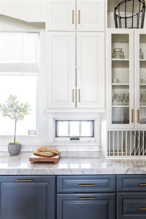 built  plate rack transitional kitchen benjamin moore courtland blue