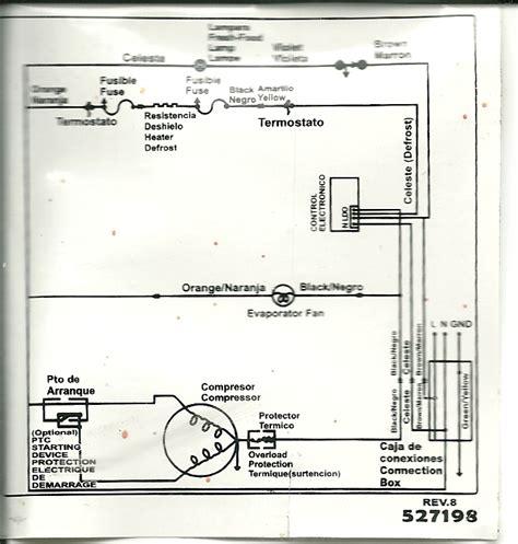 solucionado pedido diagrama electrico heladera 310 yoreparo