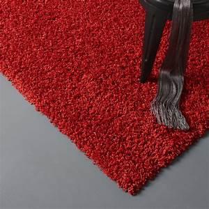 Tapis Shaggy Rouge : tapis rouge shaggy pop x cm leroy merlin ~ Teatrodelosmanantiales.com Idées de Décoration