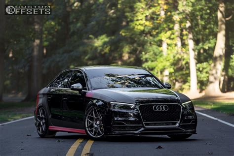 Wheel Offset 2015 Audi S3 Tucked Air Suspension