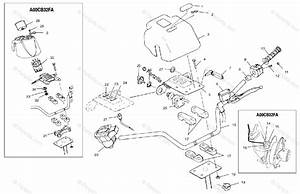 Polaris Atv 2000 Oem Parts Diagram For Handlebar A00cb32aa