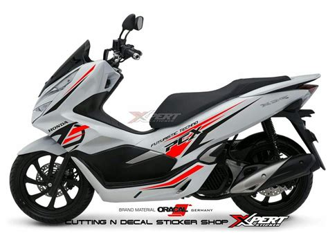 Pcx 2018 Hitam Doff by Fitur Me Decal Sticker For Honda All New Vario 150 2018
