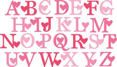 valentine monogram svg cut files valentine alphabet svg cuts  svg files  svg cuts