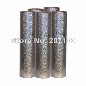 0510m laser silver reflective pu vinyl transfer film With reflective heat transfer letters