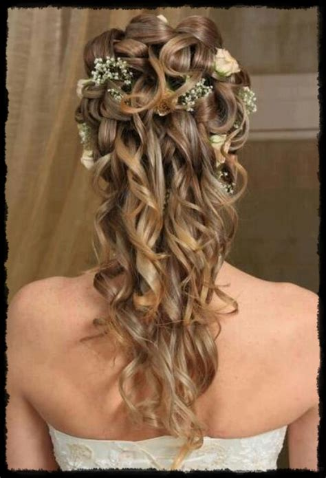 style hair up gorgeous look half up hairstyle with 5585