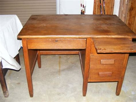 antique teachers desk oak teachers desk