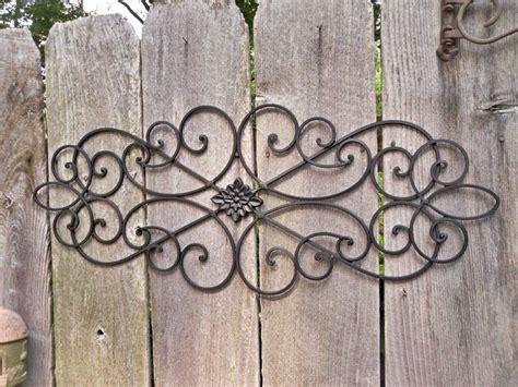 Best Collection Of Wrought Iron Garden Wall Art