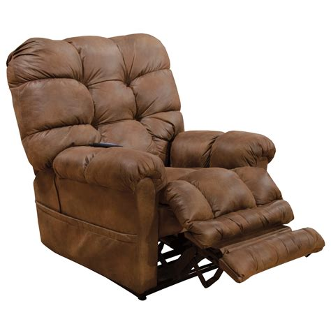 catnapper oliver casual power lift recliner  extended