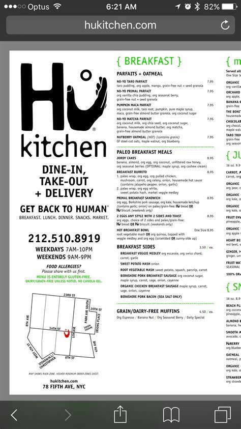 hu kitchen ny organic delivery paleo breakfast