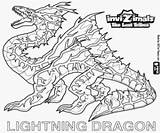 Dragon Coloring Invizimals Lightning Ice Fire Colouring Lost Tribes Coloriage Printable Dessin Colorier Tlt Template Choisir Tableau Un sketch template