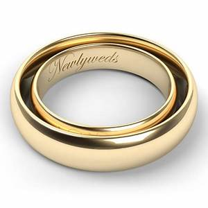 etched in gold ten ideas for engraving men39s and women39s With engraved wedding band ideas