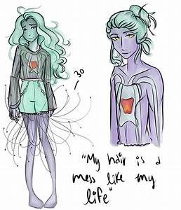 My hair is a mess like my life by jellolas on DeviantArt
