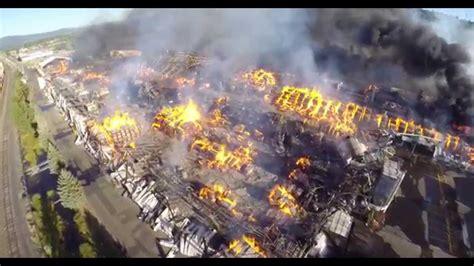 springfield oregon swanson mill fire  youtube