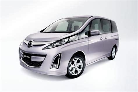 Review Mazda Biante by New Mazda Biante Minivan Sales Take In Japan