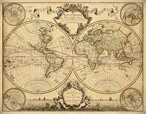 L'Isle's 1720 Old World Map Historic Map Antique ...