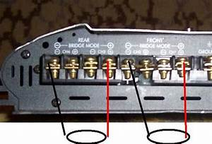 How To Bridge A 4 Channel Car Amp To 1 Sub