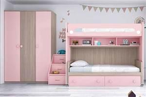 Lit Fille Ikea : lit mezzanine fille avec bureau excellent great etagere ~ Premium-room.com Idées de Décoration