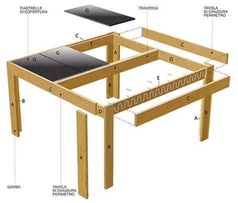 costruzione di un tavolo in legno tavolo da giardino fai da te con cucina tutti i passaggi