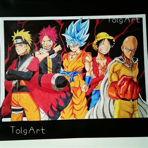 Luffy Gear Second Wallpaper Drawing Naruto Natsu Goku Luffy Saitama Anime Hd Youtube
