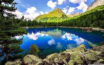Spring Mountain Landscape Wallpapers Wide Screen Desktop