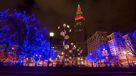 winter all month in dtcle our dynamic downtowncle