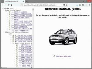 Chevrolet Captiva  Captiva Sport - Service Manual