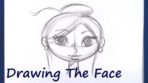 draw  cartoon face beginner level youtube
