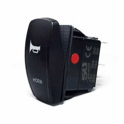 Rocker Switch Momentary Horn Switches 12v Custom