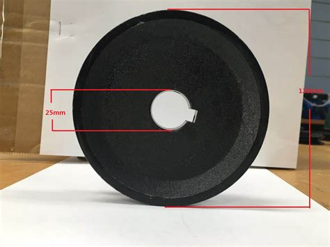 single groove pulley mm shaft size mm   electric motor cast iron  ebay