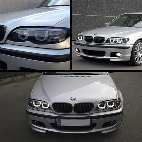 bmw   series front projector led headlights angel