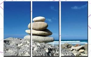 Bilder Feng Shui Steine : beach stones leinwand 3 bilder steine feng shui c00712 die leinwandfabrik ~ Whattoseeinmadrid.com Haus und Dekorationen