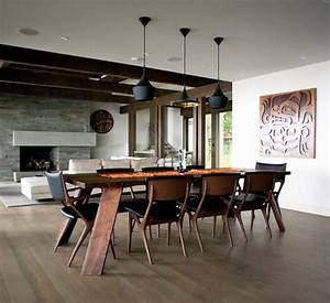 Pendelleuchten Holz Modern : esszimmer modern holz schwarz pendelleuchten offen wohnzimmer porsche ~ Frokenaadalensverden.com Haus und Dekorationen