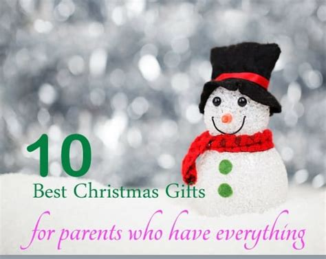 2014 christmas gift ideas for parents who have everything