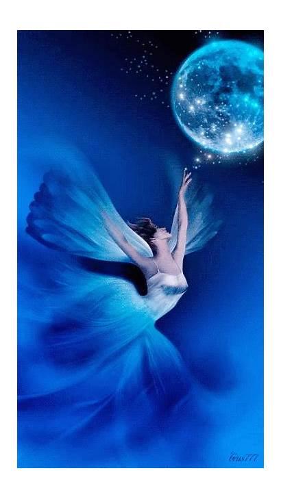 Fairy Animated Fantasy Archangel Moon Angel Visit