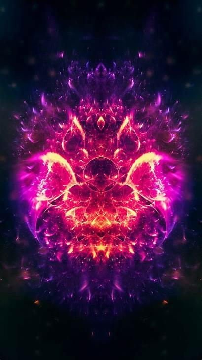 Fire Bright Patterns Shine
