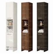 Tall Bathroom Storage Cabinets by Modern 170cm Tall Bathroom Storage Cabinet Matt Finish 2 Doors 1 She