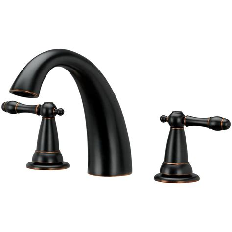 Brushed Bronze Bathroom Faucets by Homewerks Worldwide 2 Handle Tub Faucet In Brushed