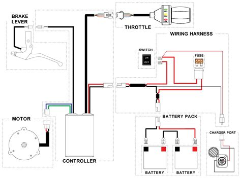 e bike controller wiring diagram likewise 7 pin