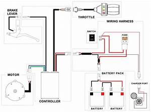 Schwinn S500 Cd Wiring Diagram And      Electricscooterparts Com Support