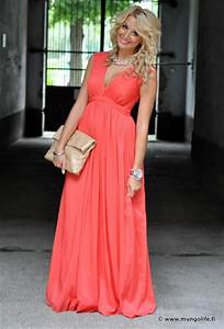 mungolife coral maxi dress wedding ideas pinterest With coral maxi dress for wedding