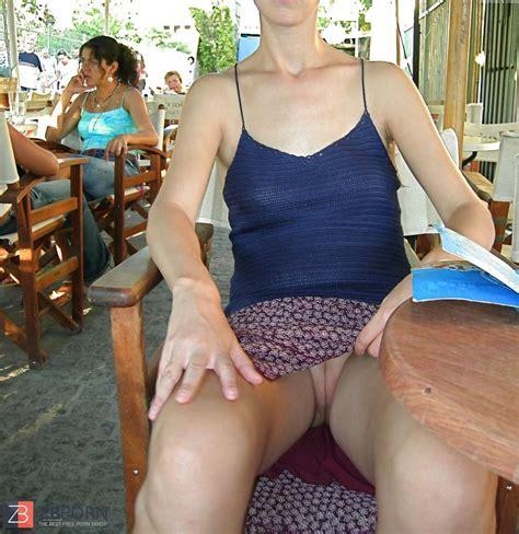 UPSKIRT inexperienced wifey undies g-strings outdoors ...